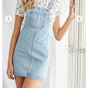 Jean overalls dress